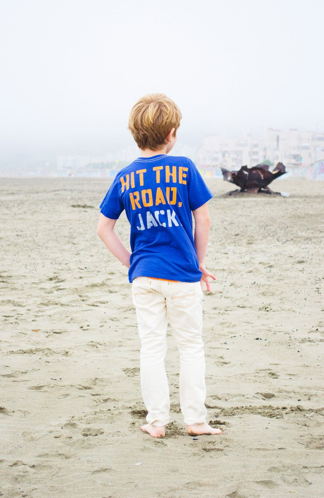 Alternate Image 3  - Peek 'Route 66' T-Shirt (Big Boys)