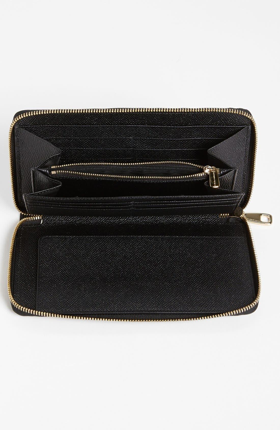 Alternate Image 2  - Dolce&Gabbana 'Extra Large' Checkbook Wallet
