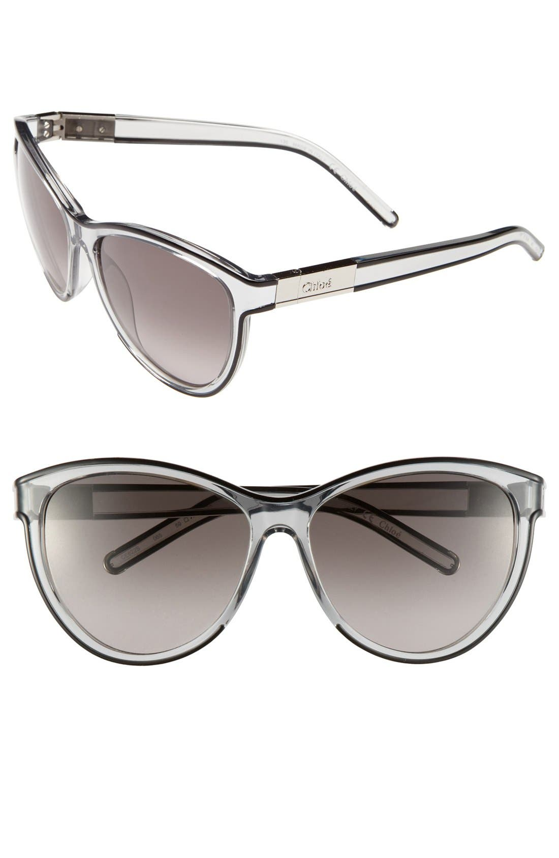 Alternate Image 1 Selected - Chloé 'Ivy' 59mm Sunglasses