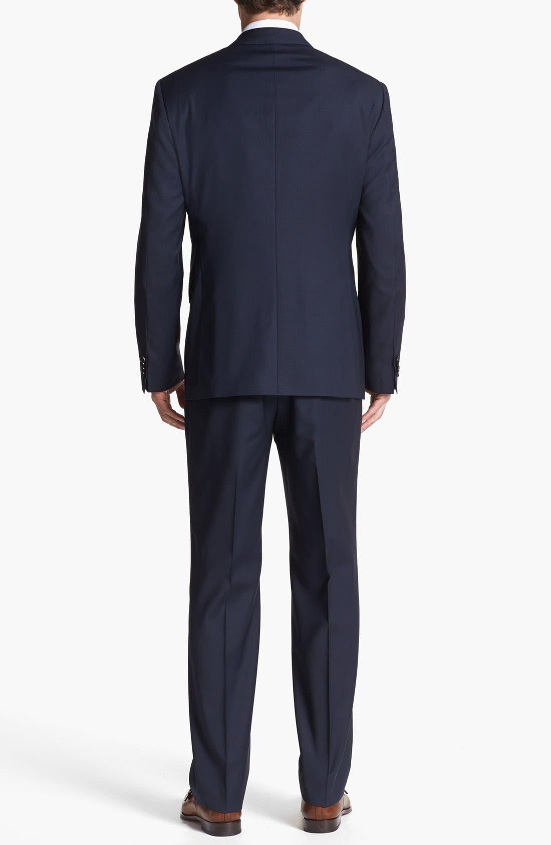 Alternate Image 3  - BOSS HUGO BOSS 'James/Sharp' Trim Fit Three-Piece Suit