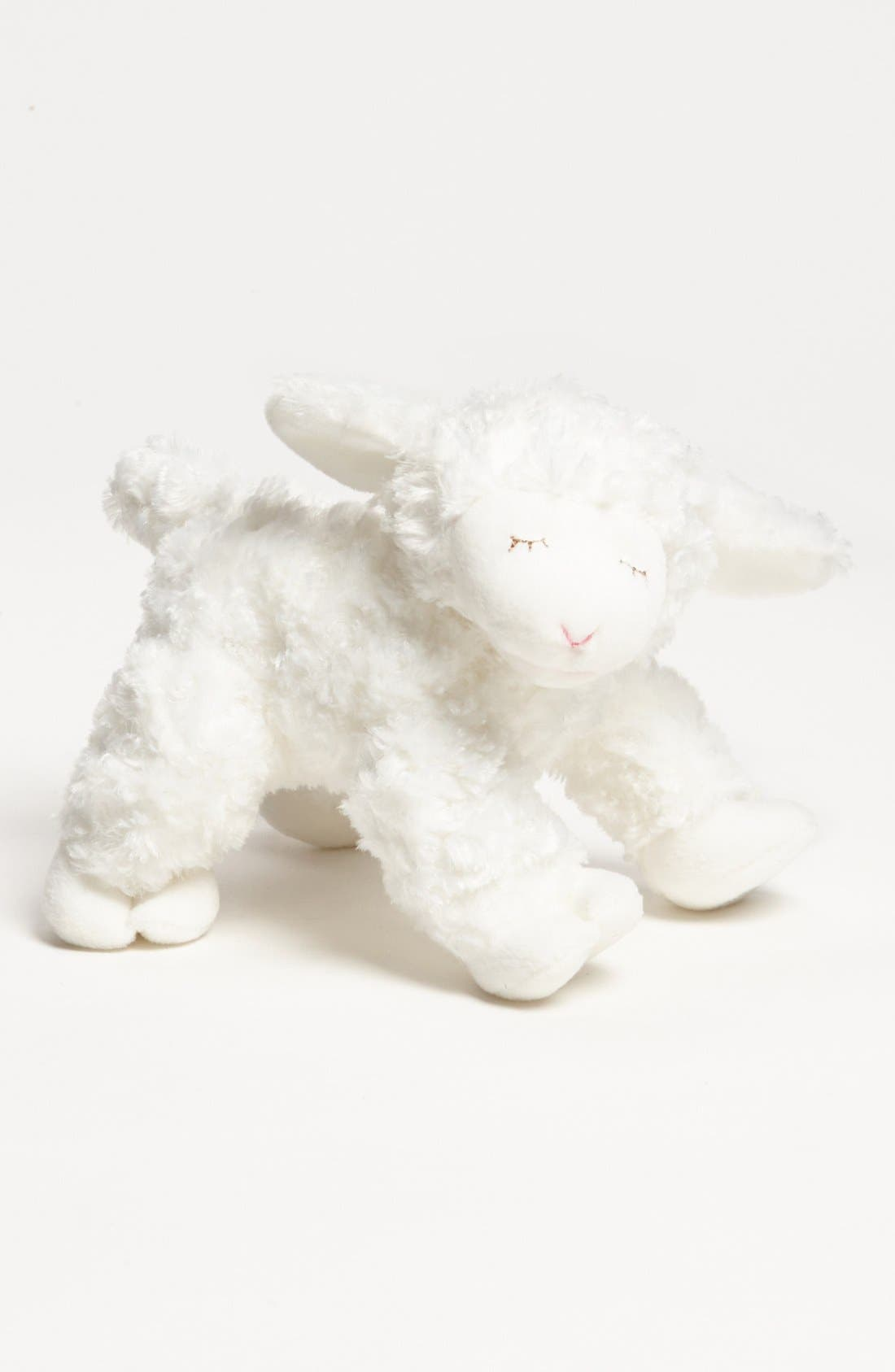 Baby Gund 'Winky' Rattle,                         Main,                         color, White