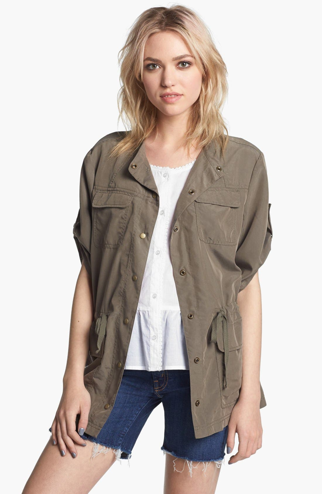 Alternate Image 1 Selected - Trouvé Military Jacket