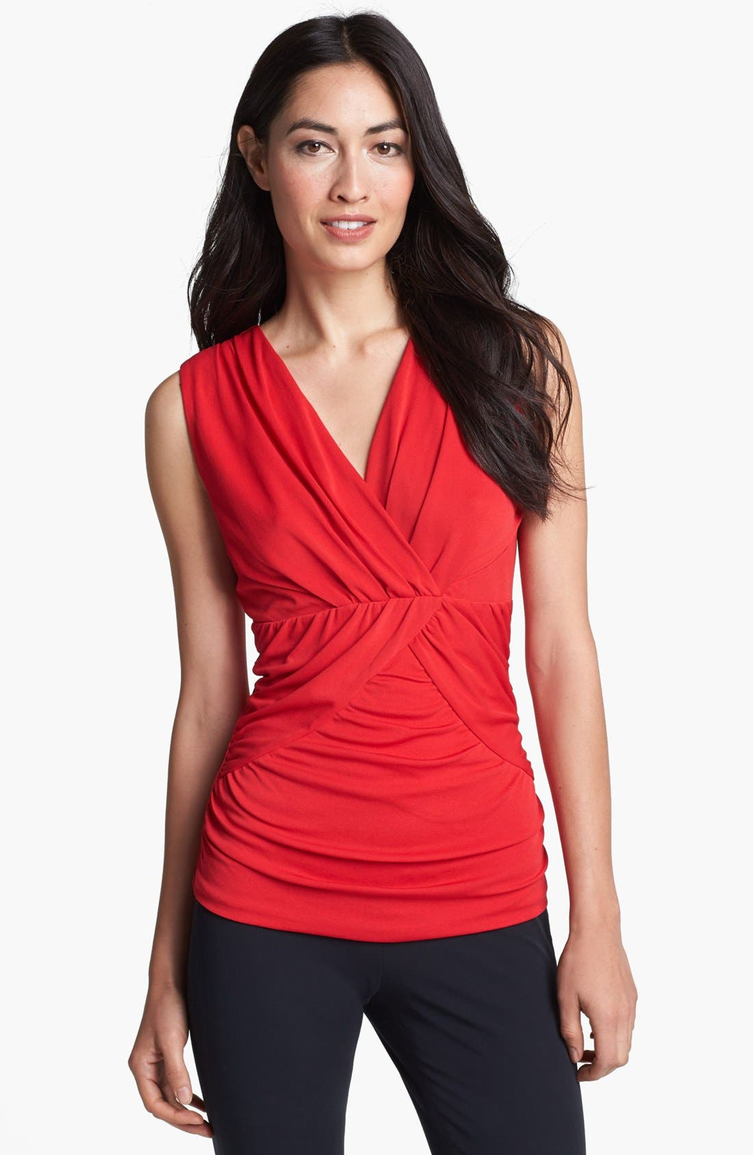 Main Image - Classiques Entier® Silk Blend Jersey Top