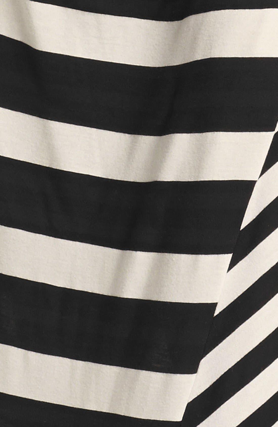 Alternate Image 3  - DKNYC Stripe Maxi Dress