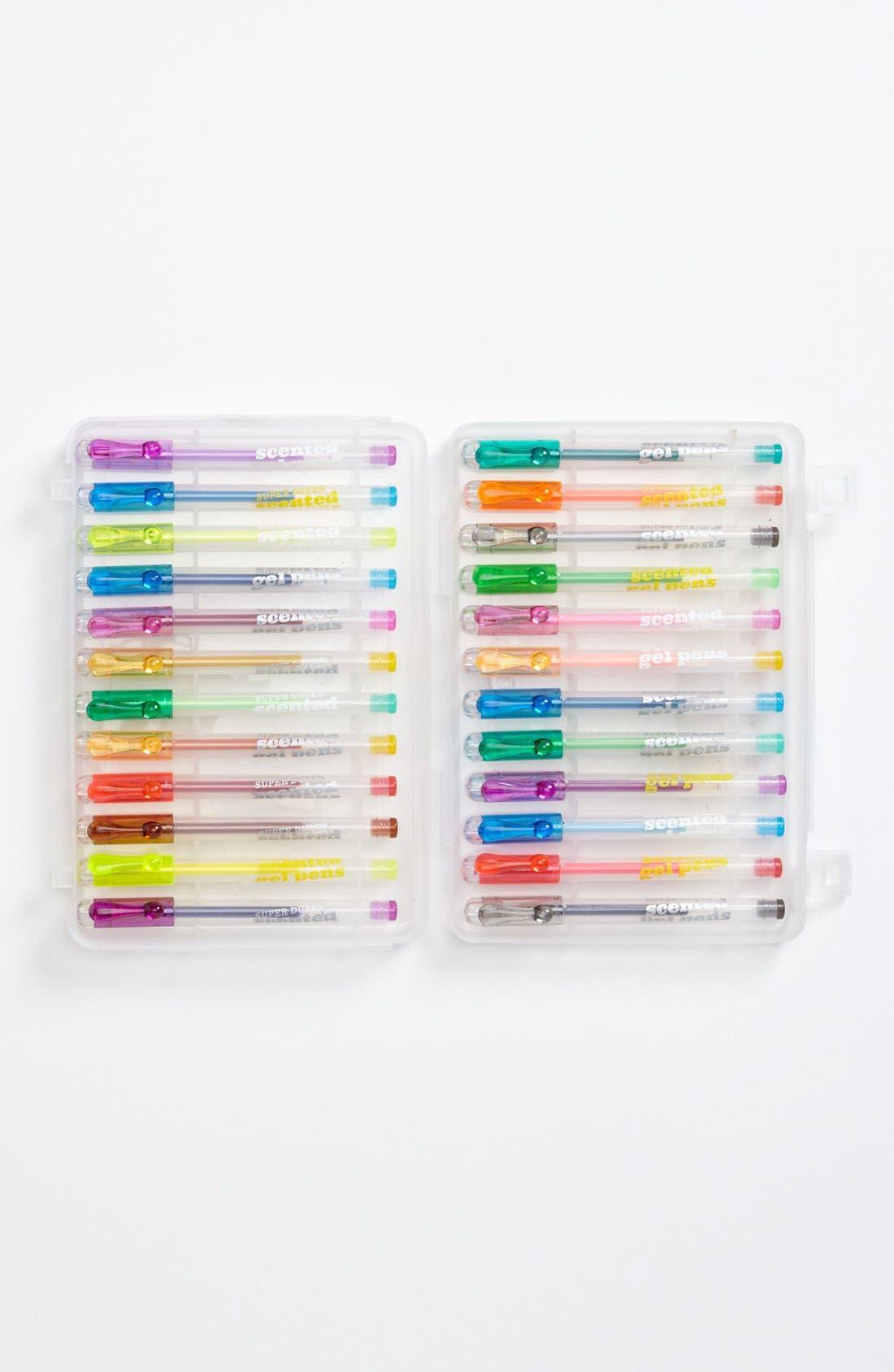 Alternate Image 1 Selected - International Arrivals 'Super Duper' Gel Pens (Set of 24) (Girls)
