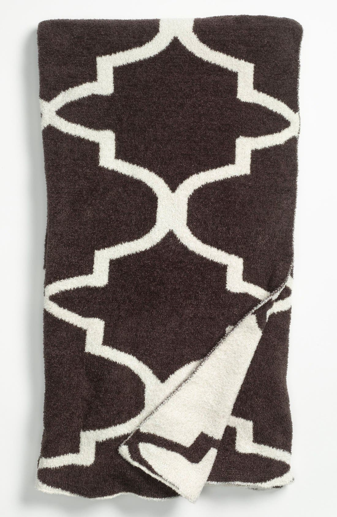 'Moroccan Dolce' Throw,                         Main,                         color, Chocolate