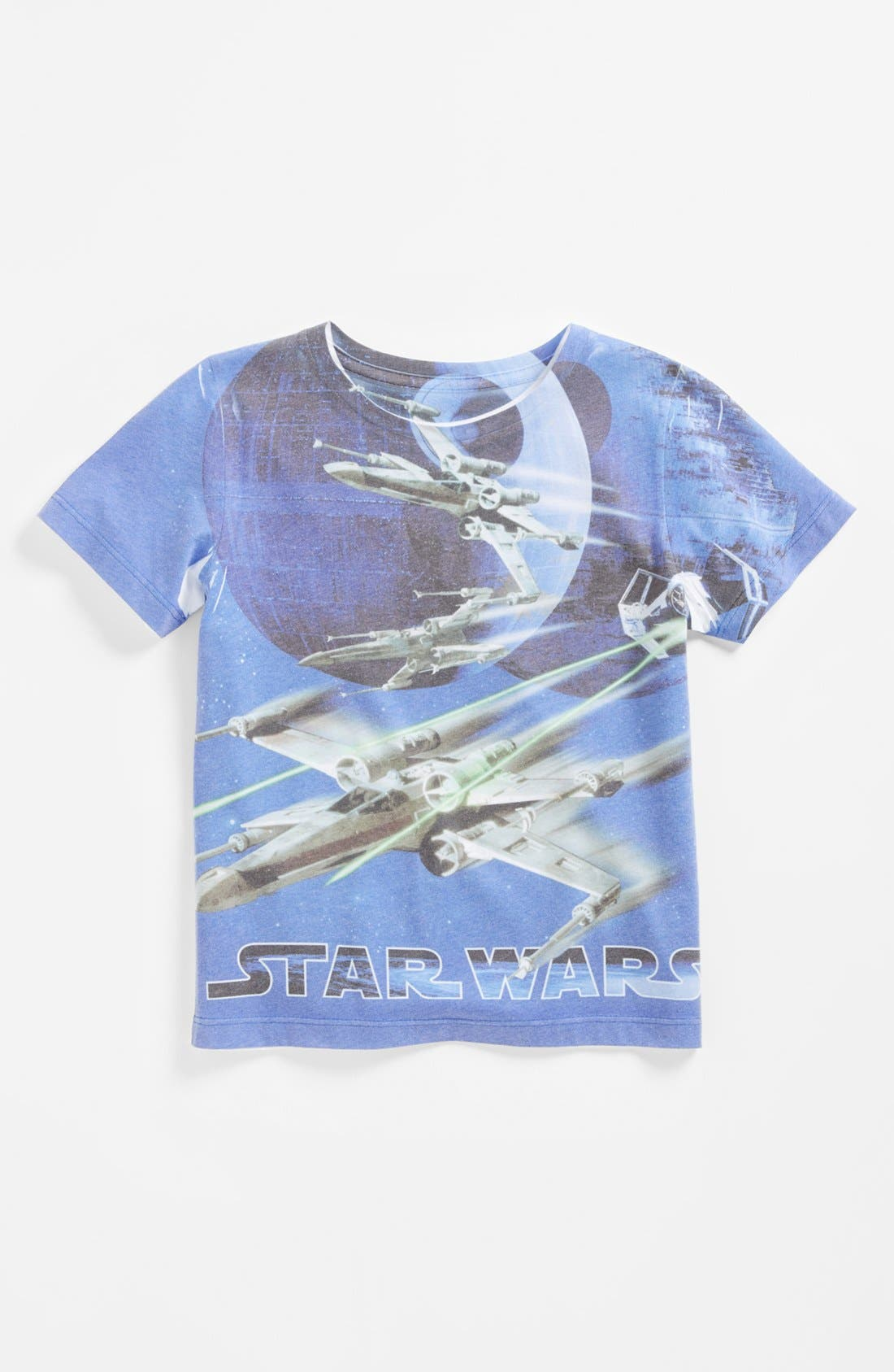 Main Image - Mighty Fine 'Star Wars™ - Death Star Fight' Graphic T-Shirt (Little Boys)