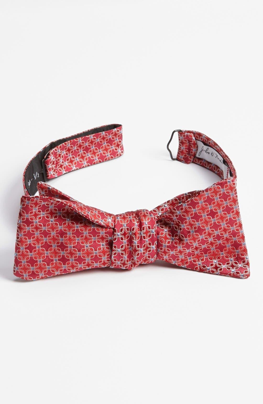 Alternate Image 1 Selected - John W. Nordstrom® Woven Silk Bow Tie