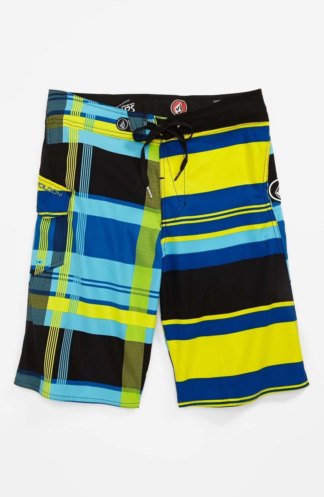 Alternate Image 1 Selected - Volcom 'Maguro' Board Shorts (Little Boys)