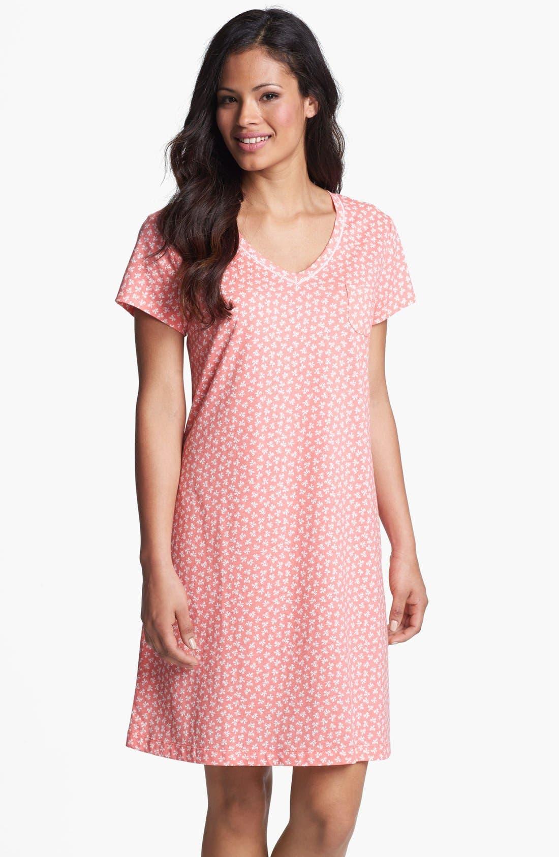 Alternate Image 1 Selected - Carole Hochman Cotton Knit Sleep Shirt