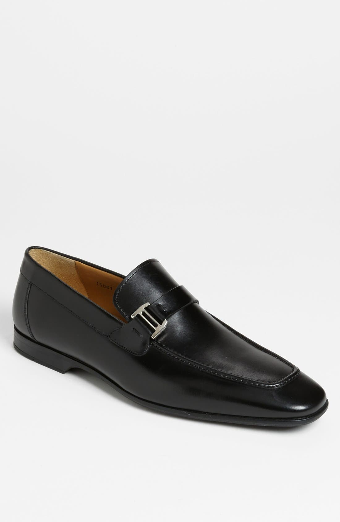 'Lino' Loafer,                         Main,                         color, Black
