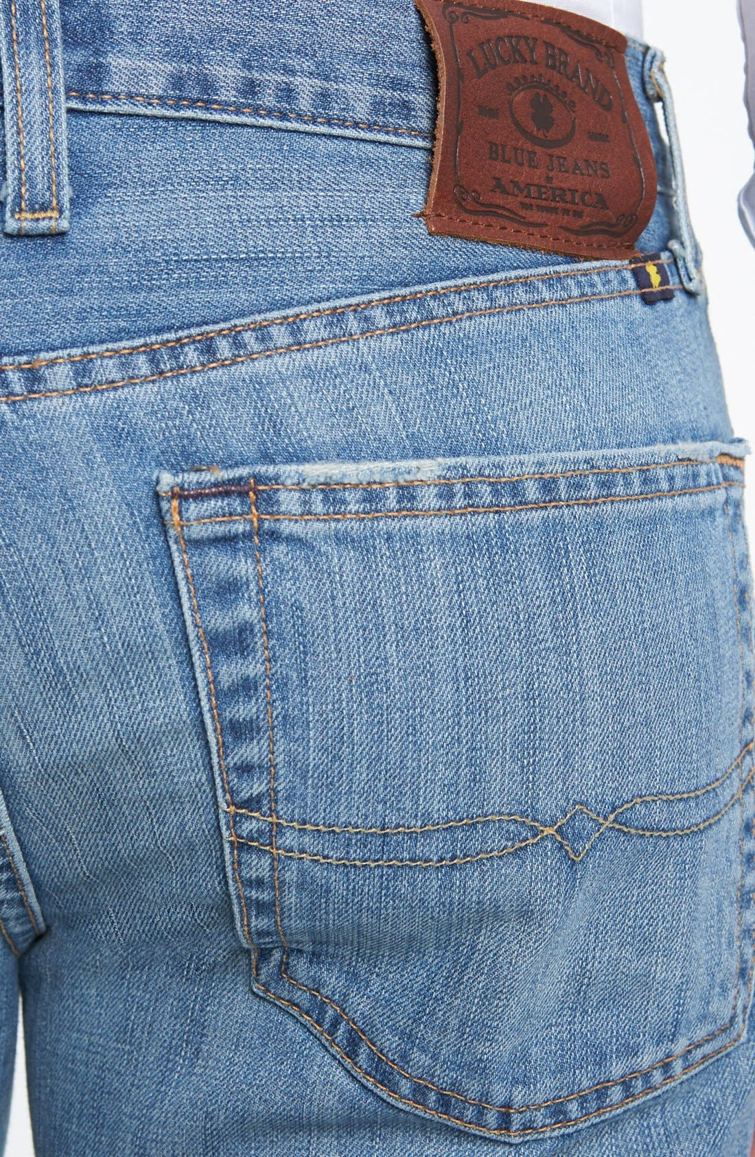 Alternate Image 4  - Lucky Brand '367 Vintage' Bootcut Jeans (Chambers)