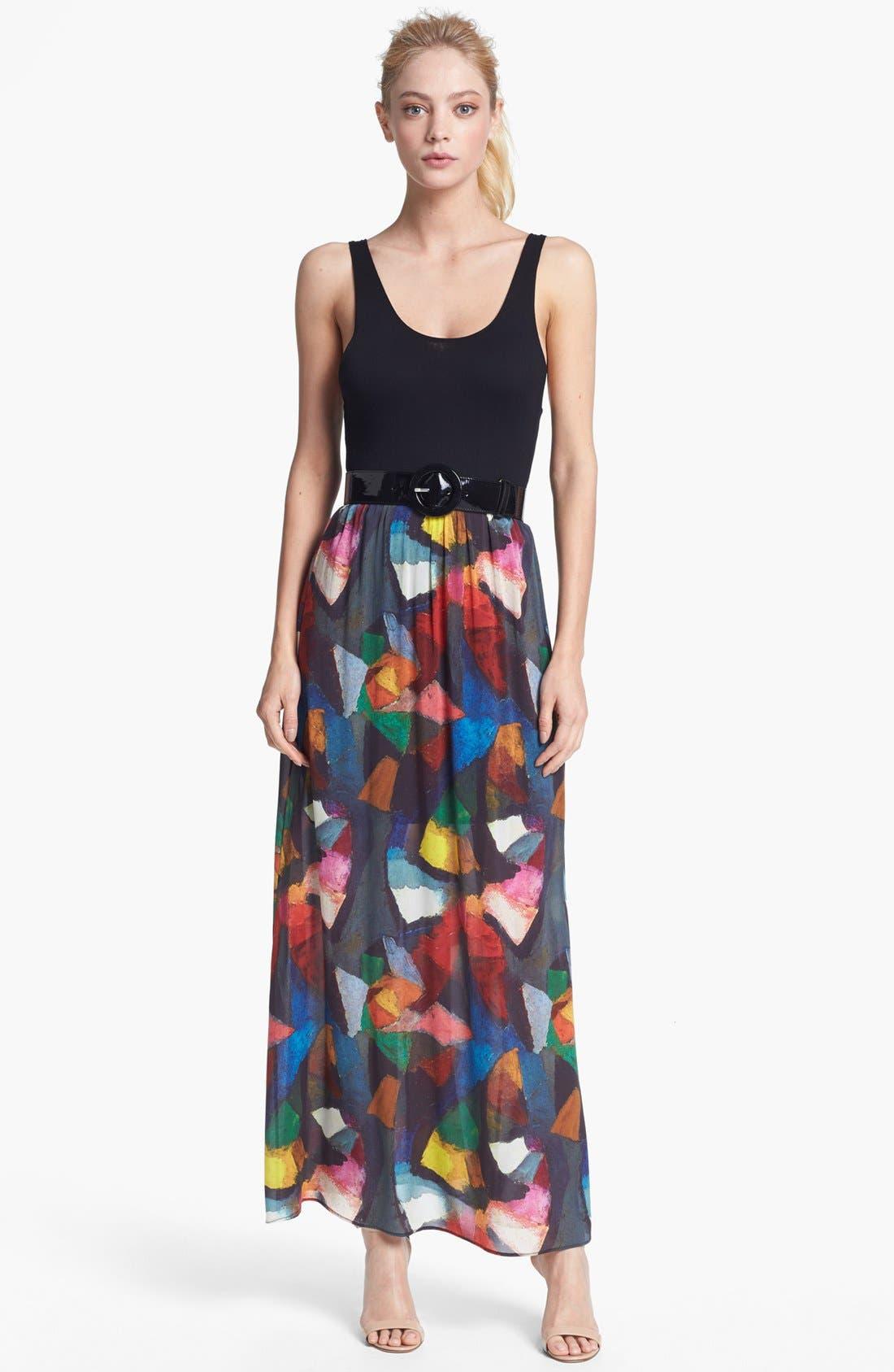 Alternate Image 1 Selected - Alice + Olivia 'Kell' Maxi Dress
