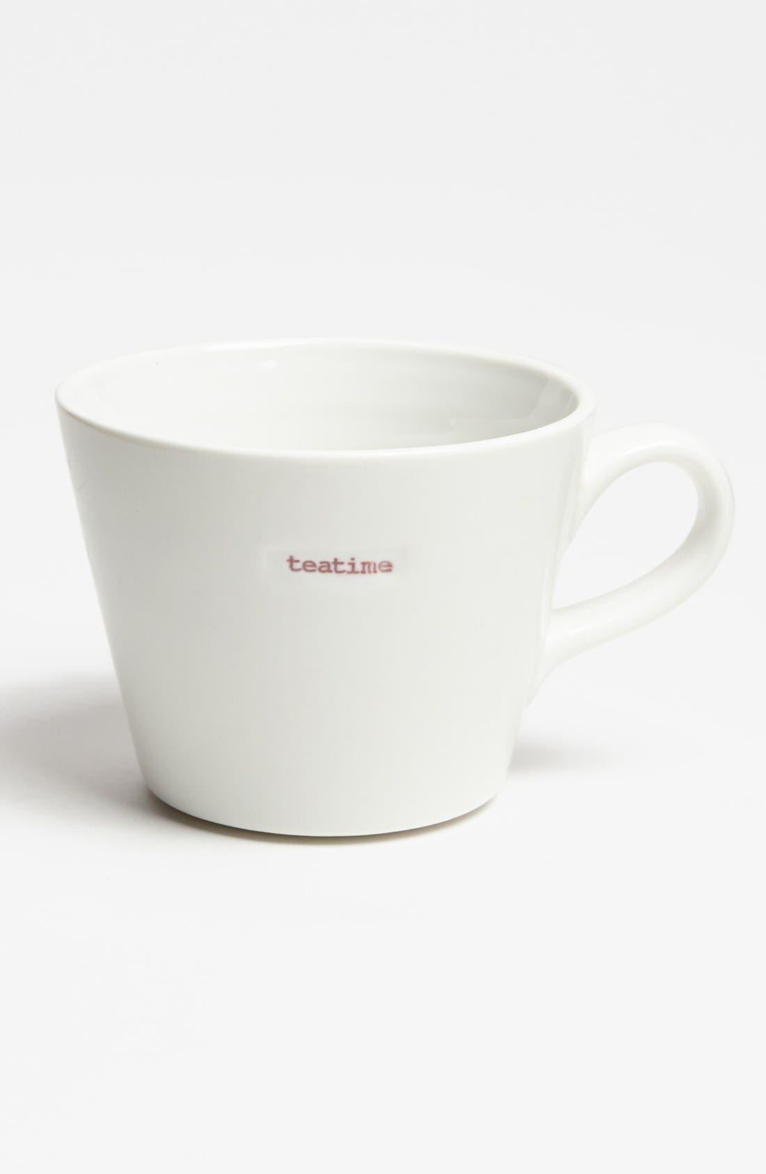 Main Image - 'Word Range - Teatime' Porcelain Mug
