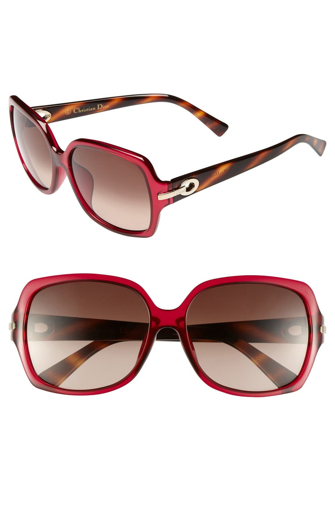 Alternate Image 1 Selected - Dior 'My Miss Dior - Special Fit' 58mm Sunglasses