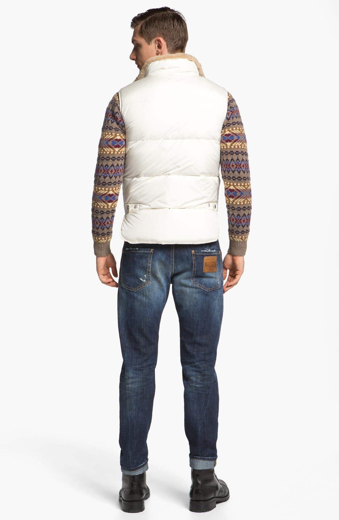 Alternate Image 5  - Dsquared2 Fair Isle Wool Crewneck Sweater