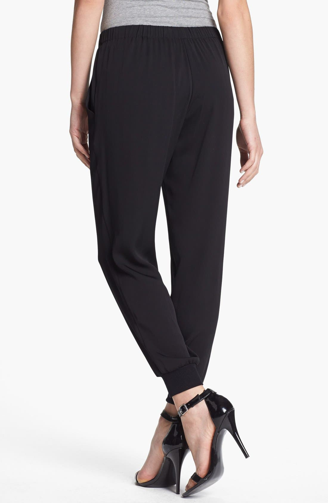 Alternate Image 2  - Theory 'Aria' Silk Pants