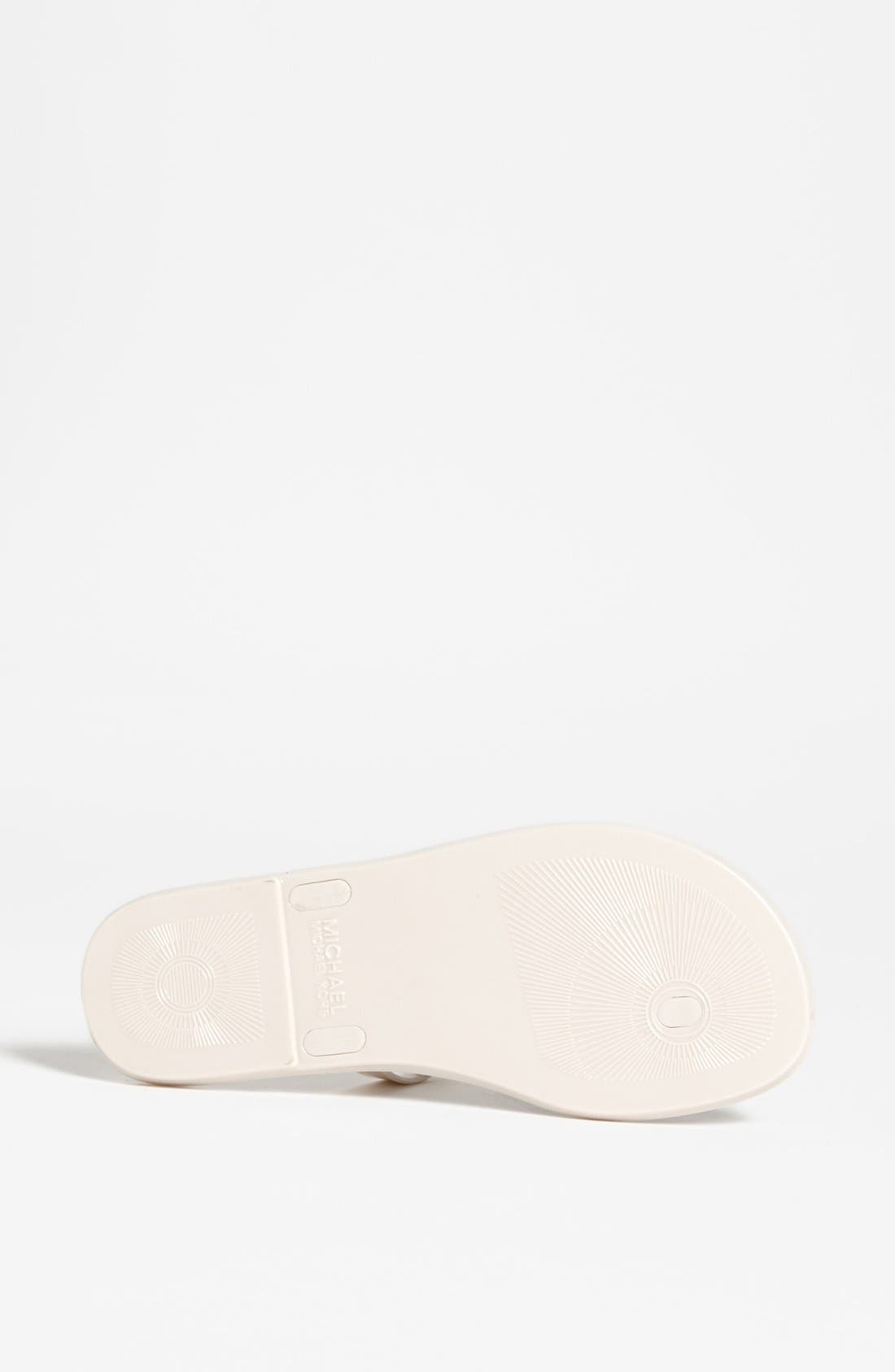 Alternate Image 3  - MICHAEL Michael Kors 'Sondra' Jelly Sandal (Nordstrom Exclusive)