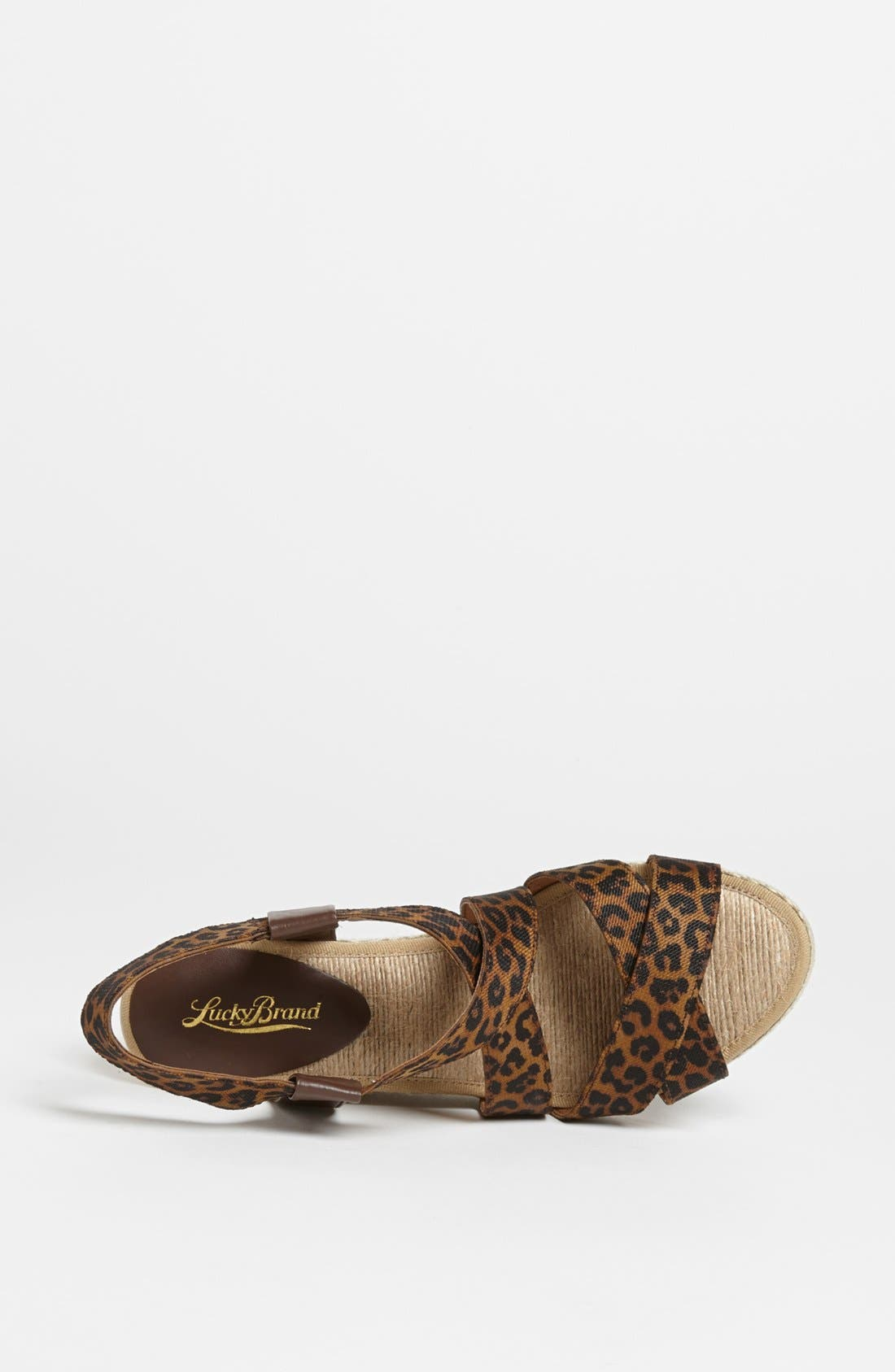 Alternate Image 3  - Lucky Brand 'Keane' Wedge Sandal
