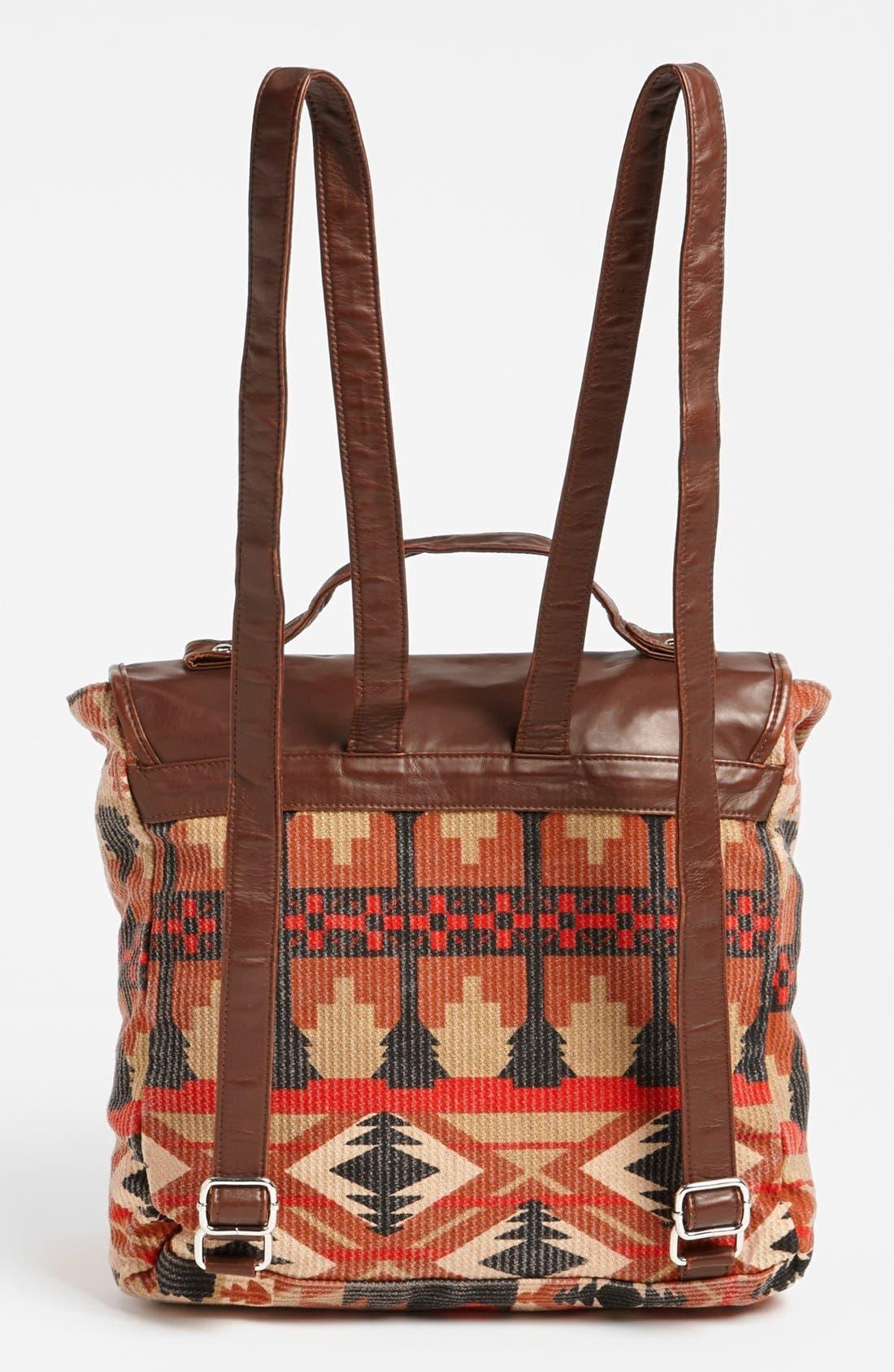 Alternate Image 4  - Lulu Canvas Backpack (Juniors) (Online Only)