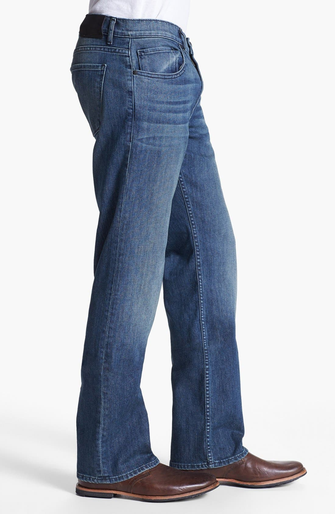 Alternate Image 3  - Paige 'Doheny' Straight Leg Jeans (Winston)