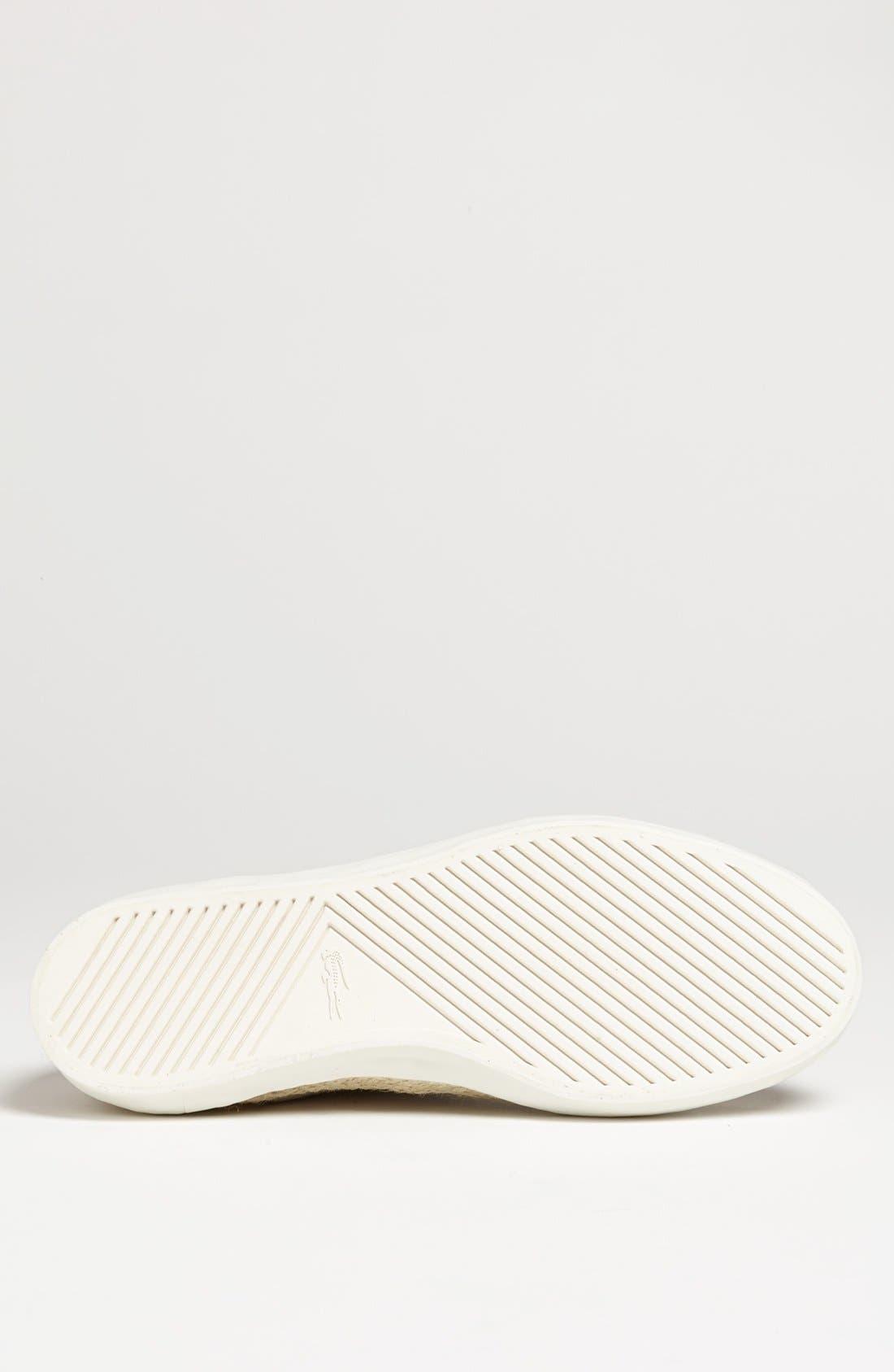 Alternate Image 4  - Lacoste 'Glendon' Sneaker (Men)