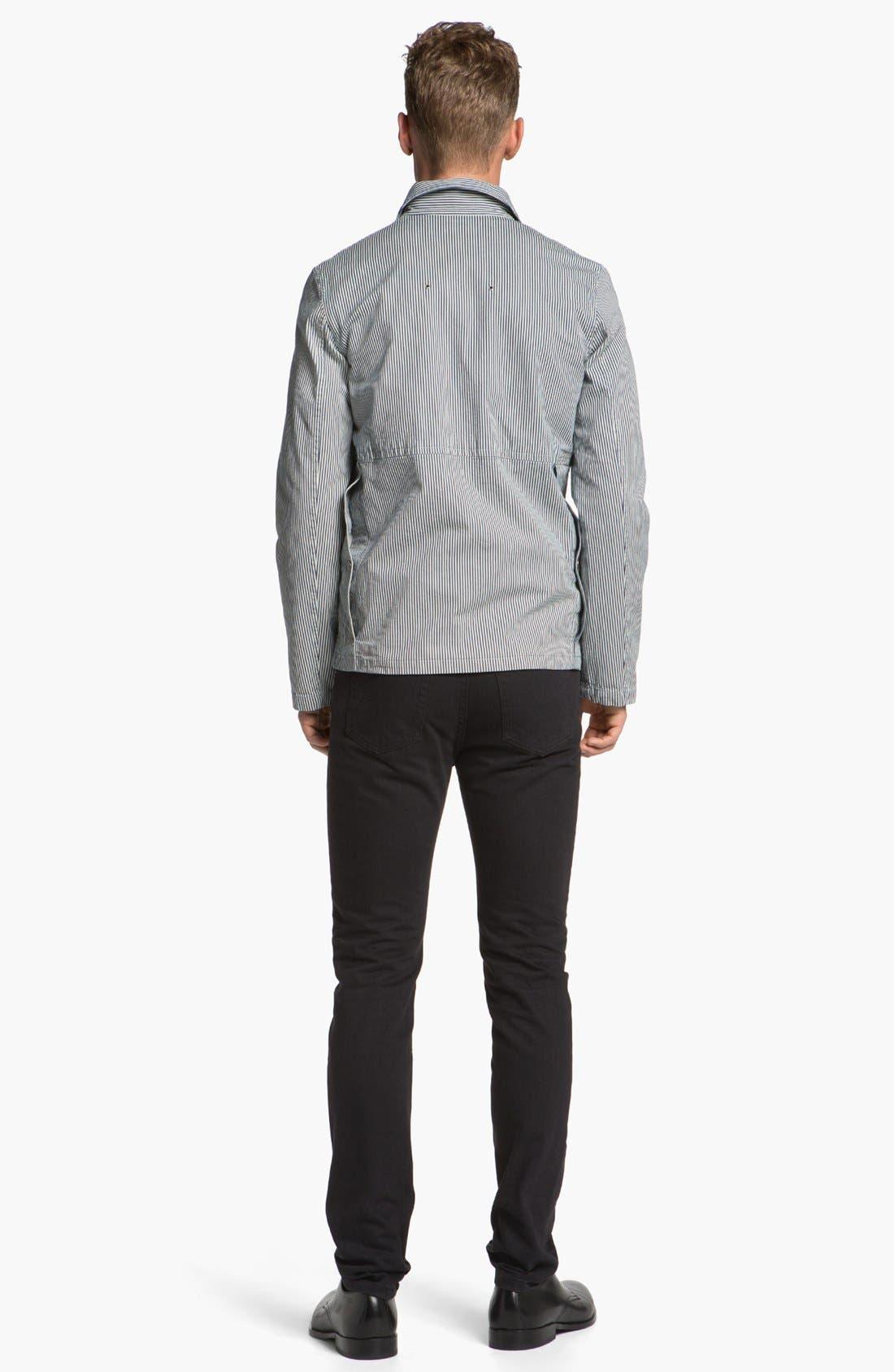 Alternate Image 5  - A.P.C. Check Cotton Flannel Shirt