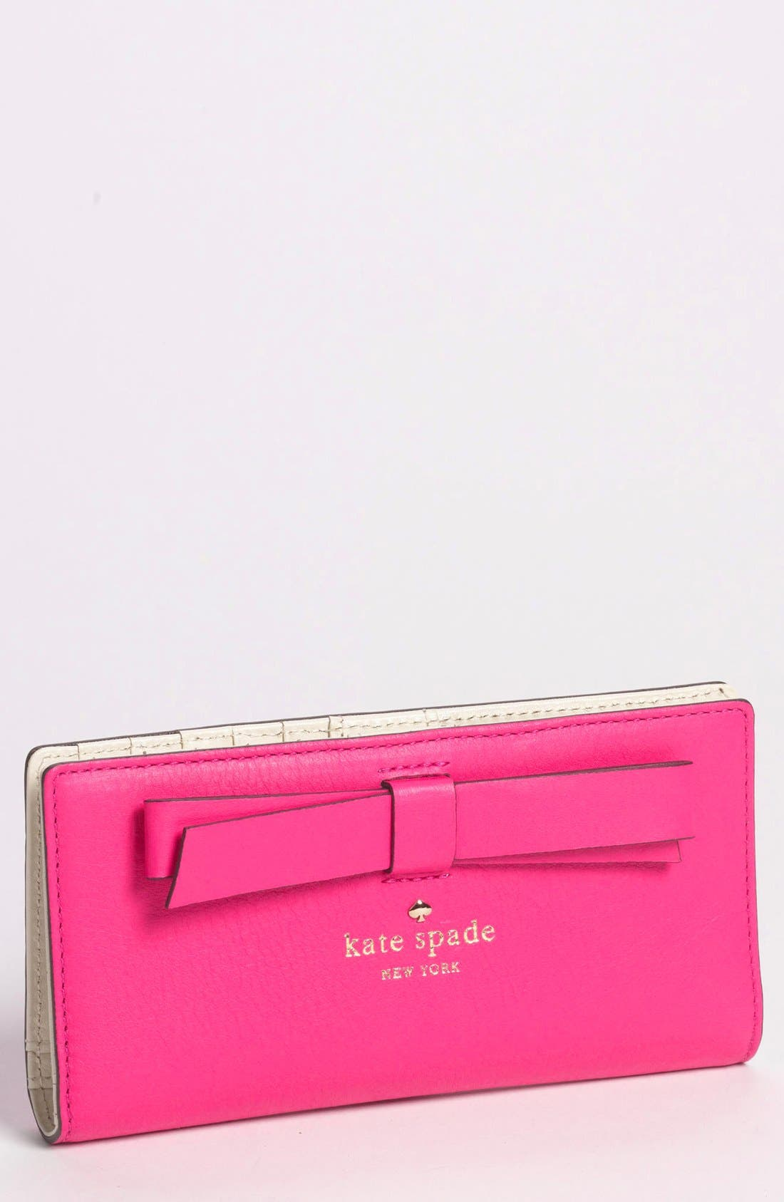 Alternate Image 1 Selected - kate spade new york 'hancock park - stacy' leather wallet