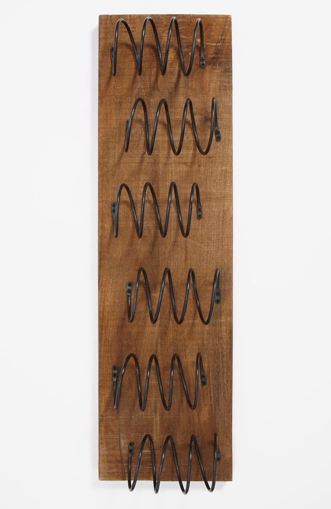 Main Image - 'Stackn' Up' Spiral Wall Mount Wine Rack