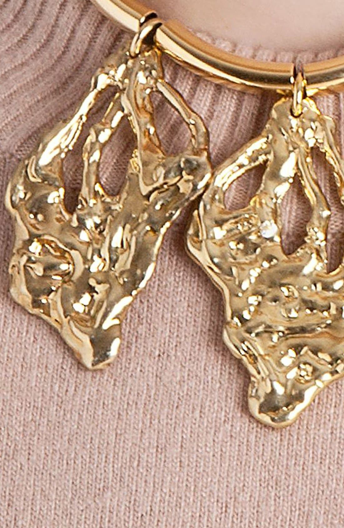 Alternate Image 2  - Marni Leaf Pendant Necklace