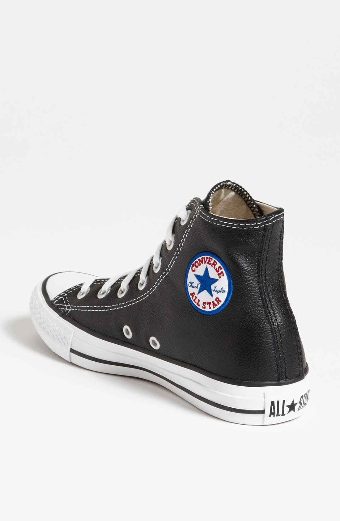 Alternate Image 2  - Converse Chuck Taylor® All-Star® Leather High Top Sneaker (Women)
