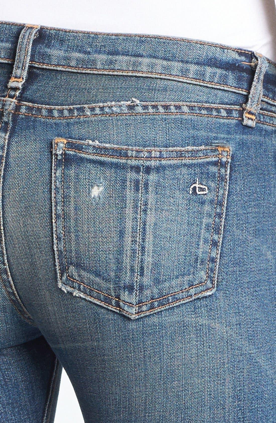 Alternate Image 5  - rag & bone/JEAN Skinny Stretch Jeans