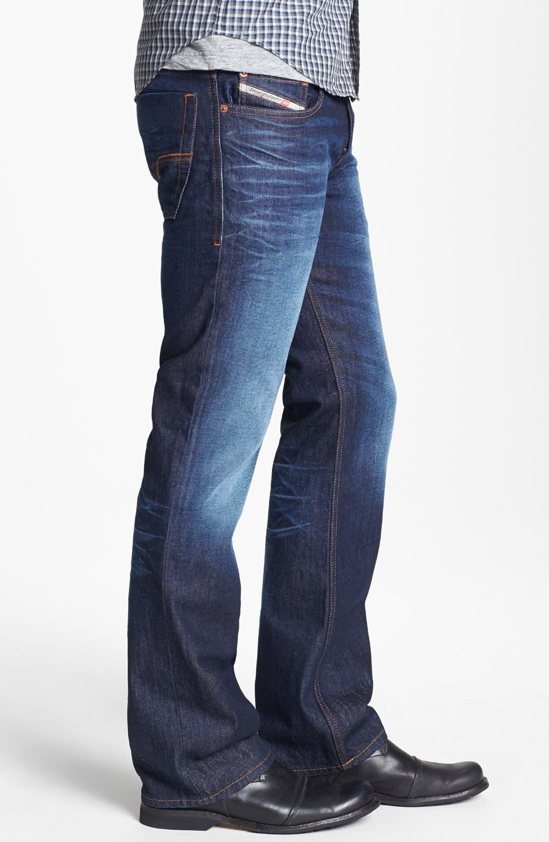 Alternate Image 3  - DIESEL® 'Zatiny' Micro Bootcut Jeans (73N)