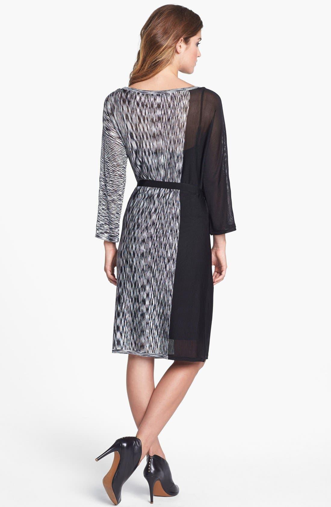 Alternate Image 2  - Trina Turk Print Tie Waist Shift Dress