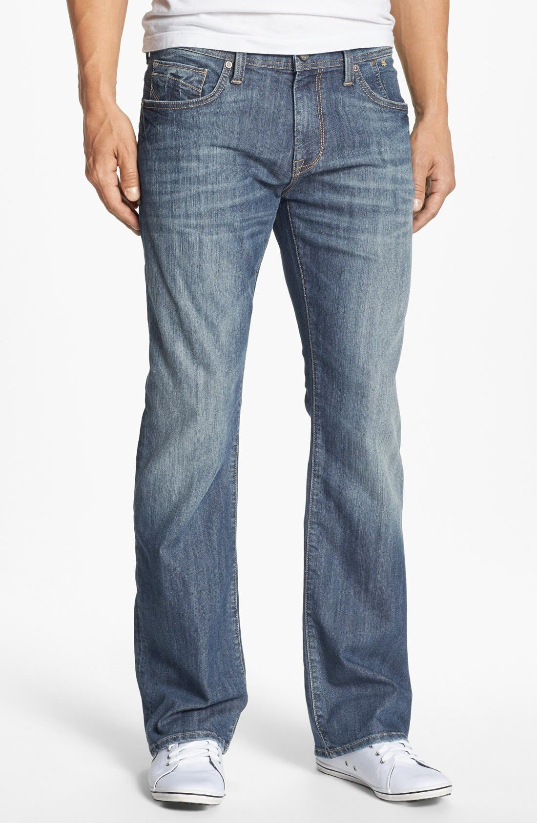 Alternate Image 2  - Mavi Jeans 'Josh' Bootcut Jeans (Brushed American Comfort) (Online Only)