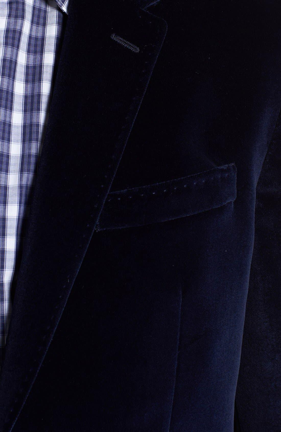 Alternate Image 3  - Paul Smith London Velvet Blazer