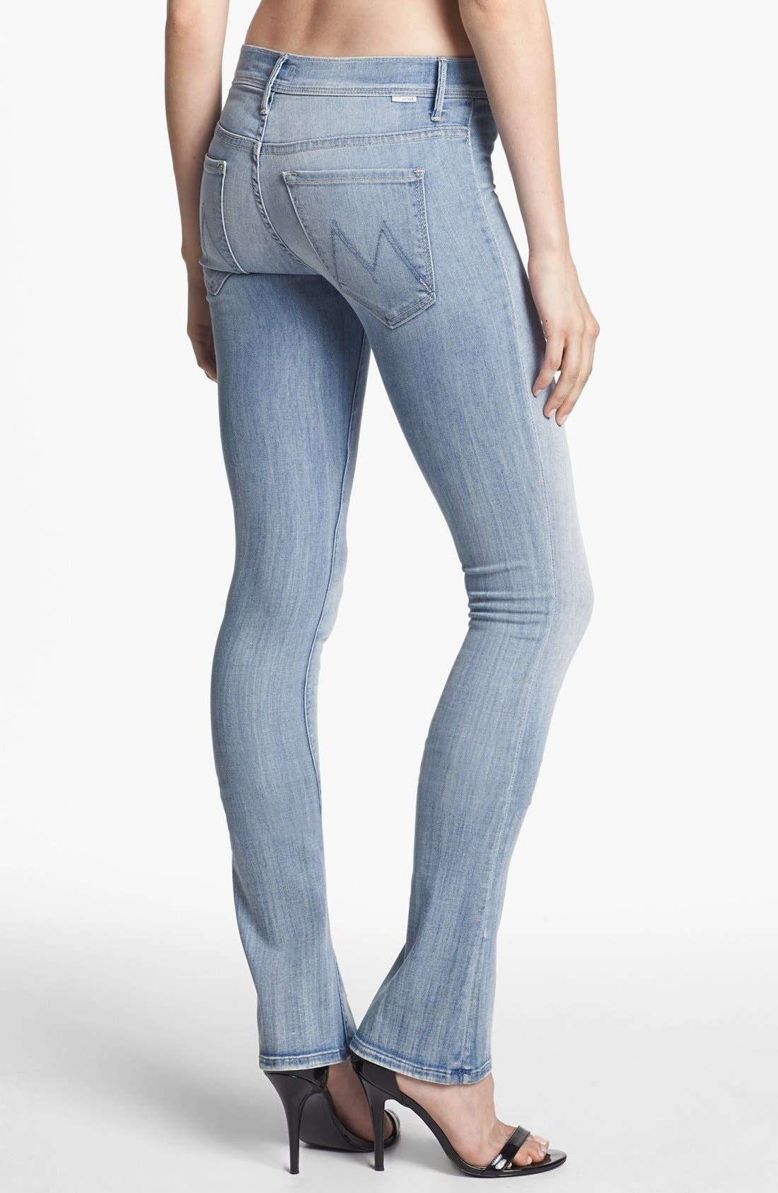 Alternate Image 2  - MOTHER 'The Daydreamer' Skinny Flare Leg Jeans (The Welcome)