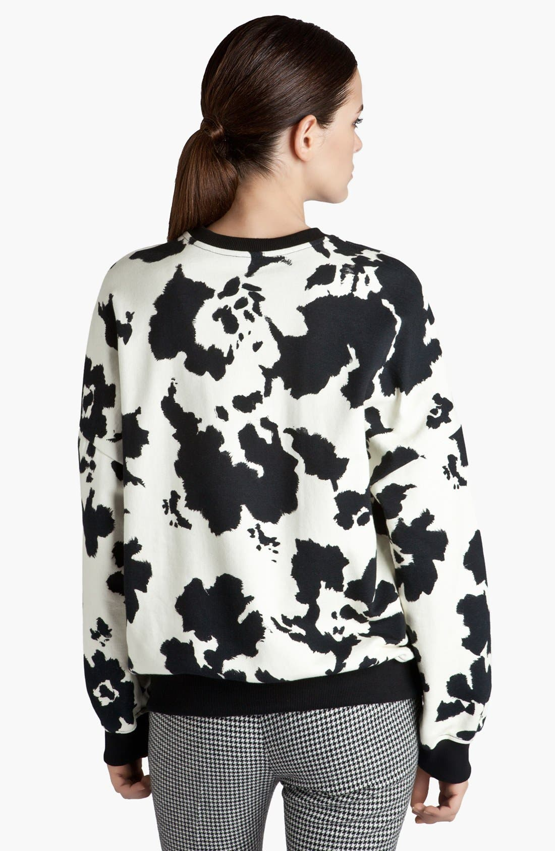Alternate Image 3  - MSGM Graphic Print Sweatshirt