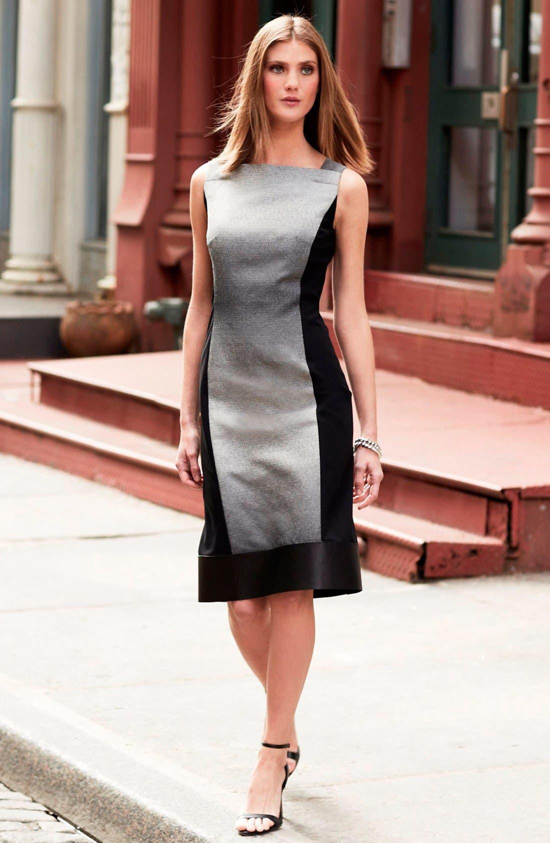 Alternate Image 4  - Lafayette 148 New York 'Penny - Saturnine Cloth' Dress