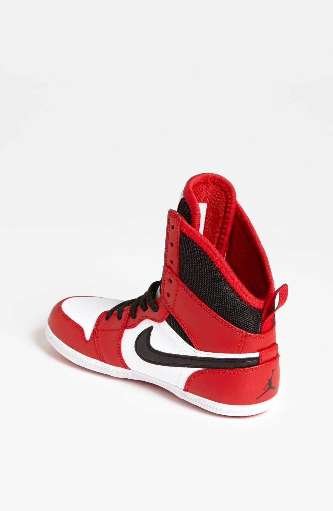 Alternate Image 2  - Nike 'Jordan 1 Skinny High' Sneaker (Big Kid)