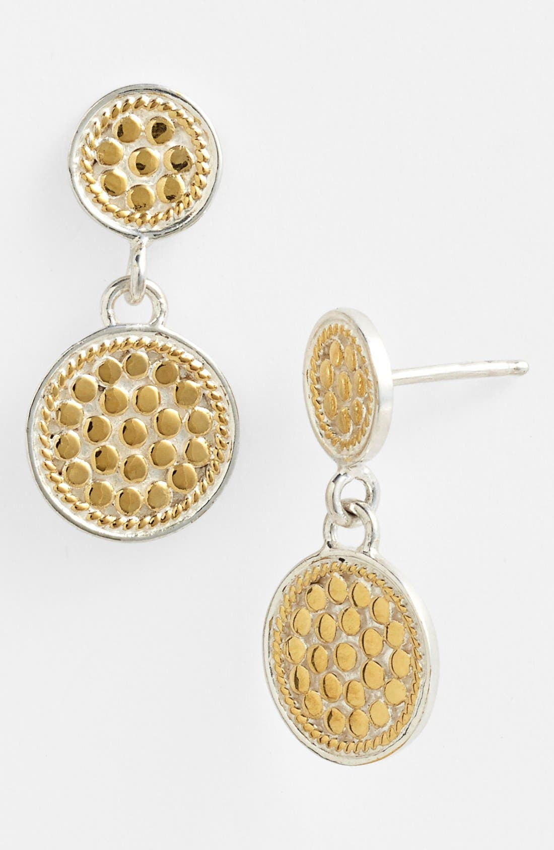 ANNA BECK Gili Double Disc Earrings