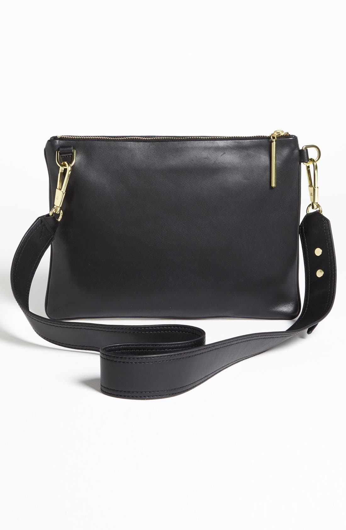 Alternate Image 4  - 3.1 Phillip Lim 'Racer' Calf Hair & Leather Clutch