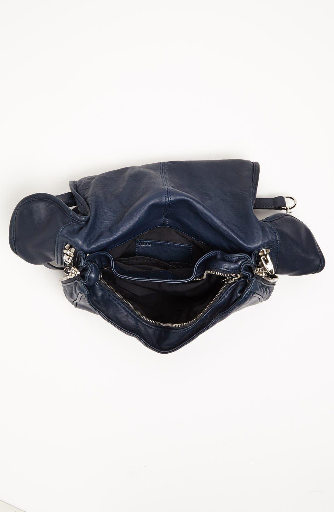 Alternate Image 3  - Alexander Wang 'Iris - Nickel' Leather Crossbody Bag, Medium