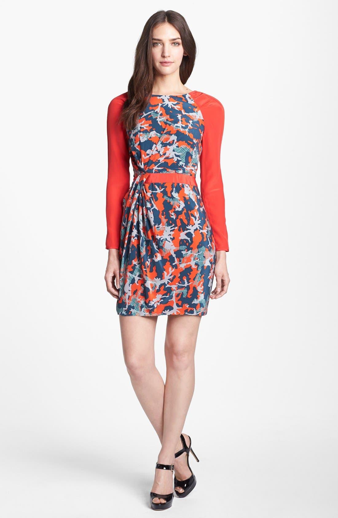 Main Image - Rebecca Minkoff 'Sacramento' Silk Sheath Dress