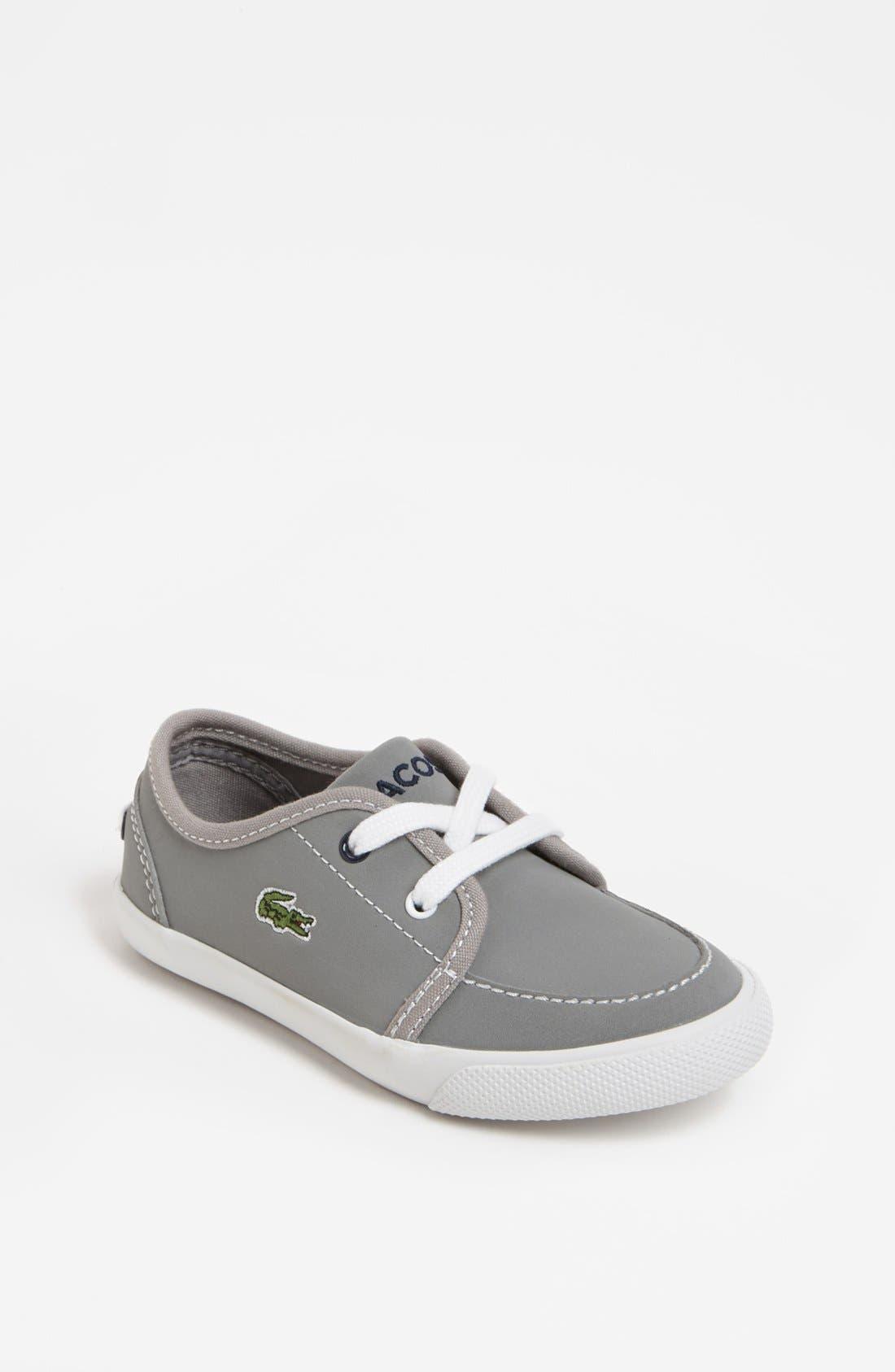 Alternate Image 1 Selected - Lacoste 'Boat DE' Sneaker (Toddler)