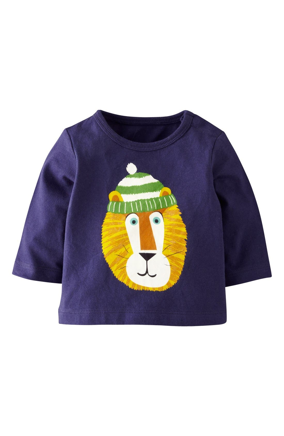 Main Image - Mini Boden Screenprint T-Shirt (Baby Boys)