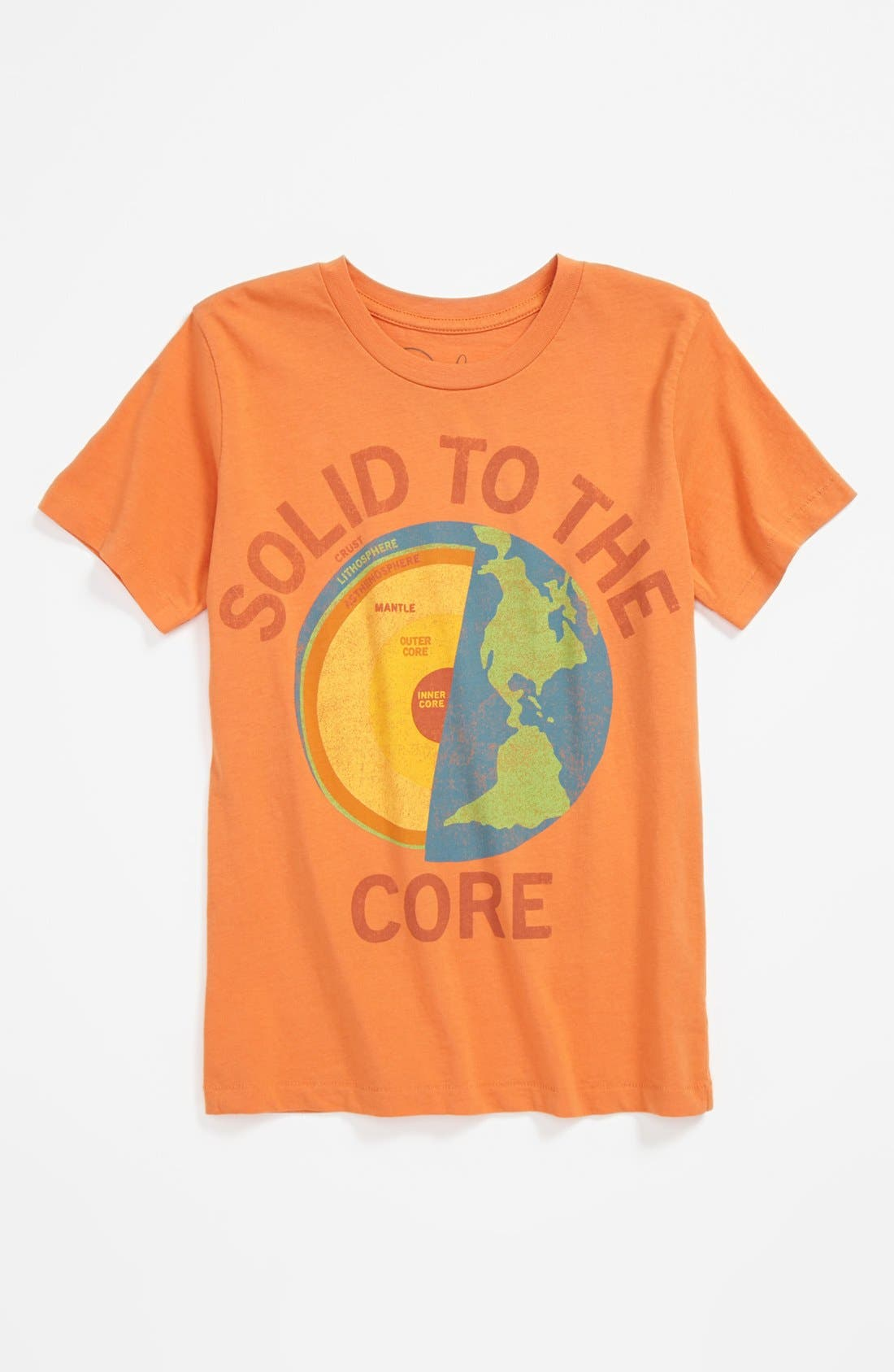 Alternate Image 1 Selected - Peek 'Solid to the Core' T-Shirt (Baby Boys)