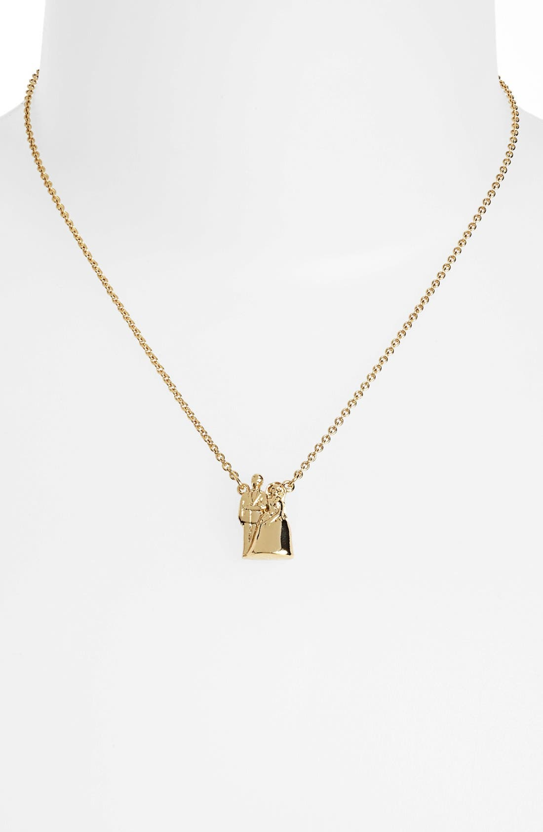 Alternate Image 2  - kate spade new york 'cake topper' pendant necklace