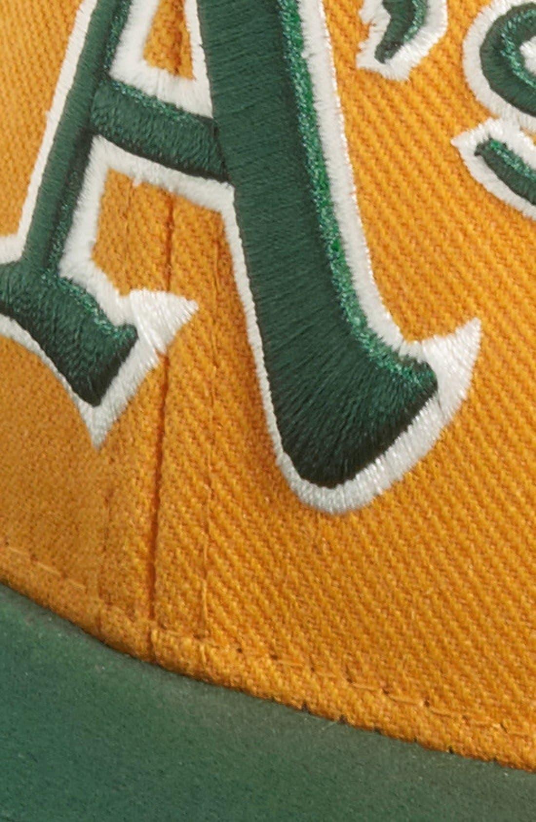 Alternate Image 2  - American Needle 'Suedehead - Athletics' Baseball Cap