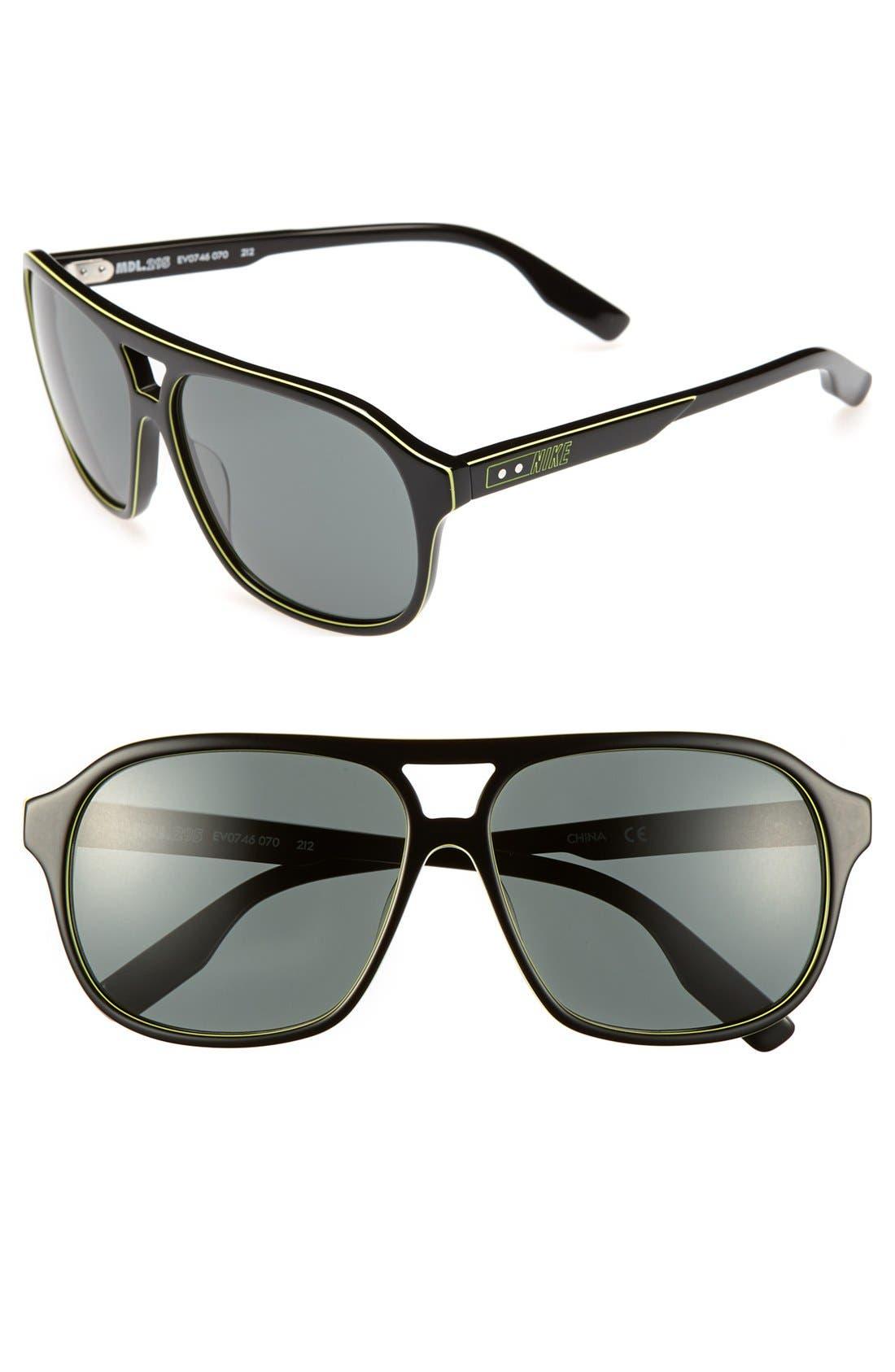 Alternate Image 1 Selected - Nike 'MDL.295' 59mm Sunglasses